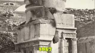 הסיפור של  קבר, יד אבשלום - עמק קדרון, ירושלים מלווה בהסברים ותמונות עתיקות . ירושלים ישראל