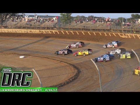 Lawrenceburg Speedway   8/26/17   Budweiser UMP Modifieds   Heats