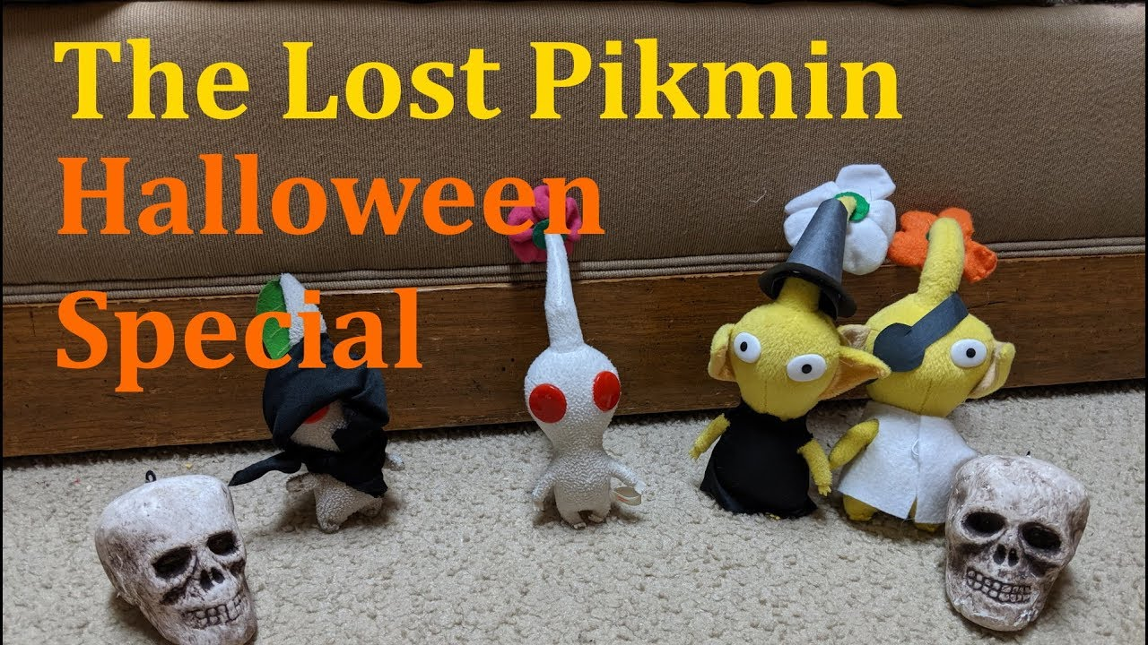 Three pikmin halloween costumes. The creature in the back ... |Pikmin Halloween
