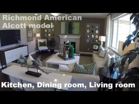 Richmond homes alcott model