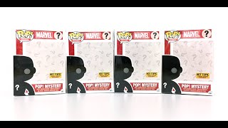 Unboxing 4 cajas Pop Mystery Exclusivo Hot Topic DeadPool Funko