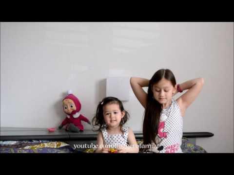 Dạy hai chị em nhường nhịn nhau -  Camilla ThyThy & Annalisa LyLy