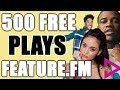 Get Your Music Played  with Feature.FM
