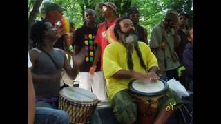 1.SANBLE KA-  O Gwo Ka O with AKIYO Master Singer and Drummer M. Francois Ladrezeau [HD]