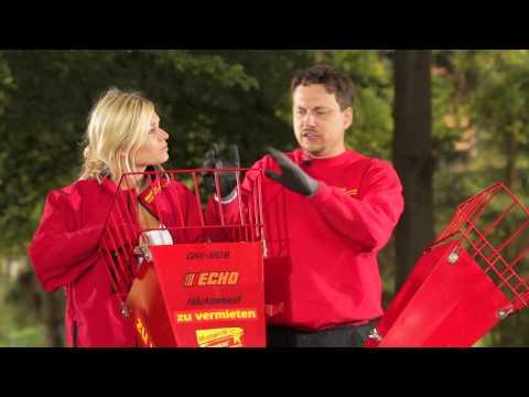 Video Der Benzin Häcksler - Rentas Werkzeugvermietung