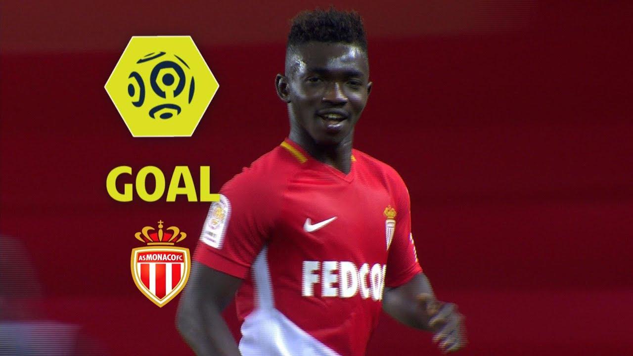 Goal Adama TRAORE (27') / AS Monaco - EA Guingamp (6-0 ...