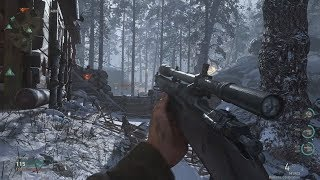 Very Epic SNIPER Mission from Call of Duty WW2