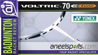 YONEX Voltric 70 E-TUNE Badminton Racket Review - AneelSports.com