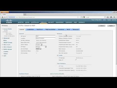 CCIE Wireless V2: Mesh Configuration Basics