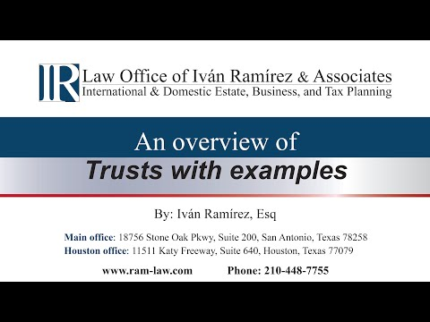 An overview of Trusts with examples