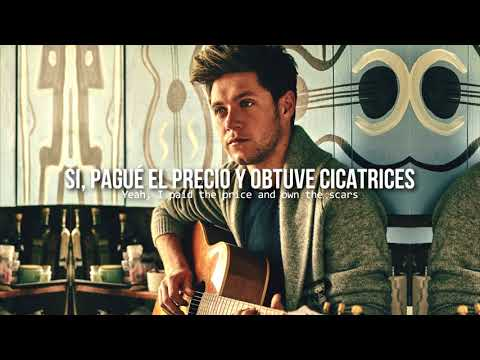 Paper houses • Niall Horan   Letra en español / inglés