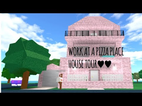 Robloxwork At Pizza Place House Tour Youtube Work At A Pizza Place House Tour Youtube