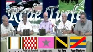 Rede Turfe na TV #202, de 25.02.15, Adriana Lioi, D.Guignoni e C Rodrigues