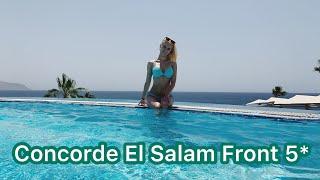 Concorde El Salam Front 5 Шарм Эль Шейх 2021 Территория море пляж 3 часть