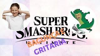SUPER SMASH BROS - DESAFIO N º 3 BAGUNÇA E GRITARIA.