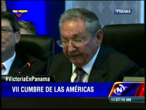 Cumbre de las Américas 2015: Raúl Castro (Cuba), discurso completo