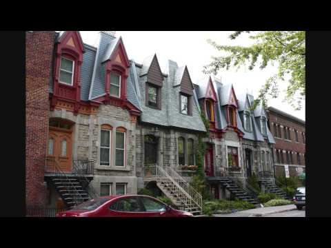 Le Plateau Mont-Royal (HD Video)