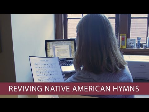 FSU researcher wins fellowship to resurrect Native American hymns