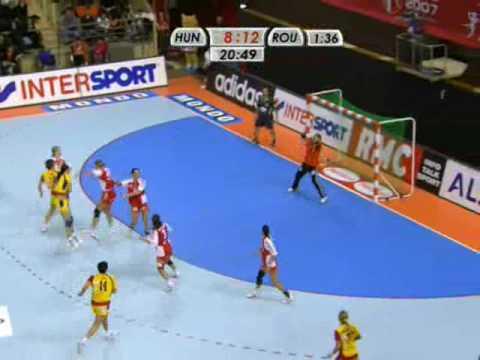 Over Hungary Handball Romanian Women 88