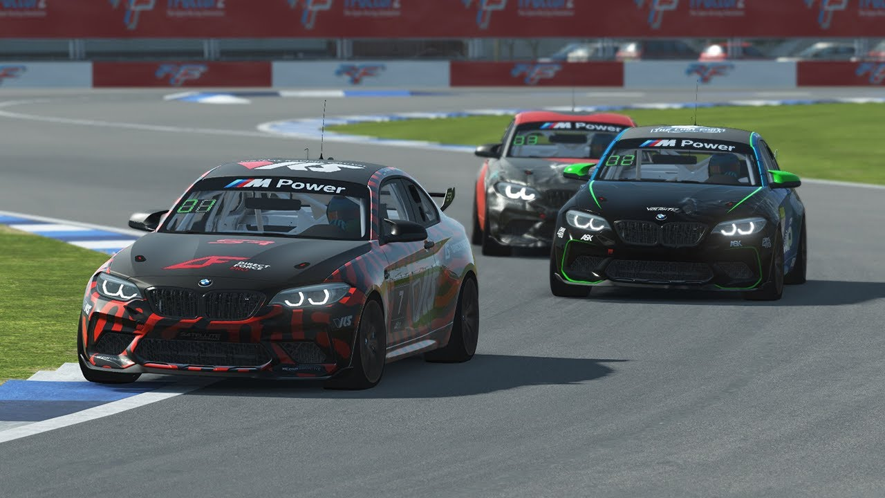 rFactor 2 | BMW SIM M2 CS Racing Cup 2021 S2 | Final Round 6 - Indianapolis