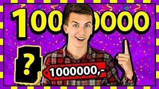 MILION SUBÓW!  Rozdaję Wam rzeczy warte 1,000,000!  *NIE CLICKBAIT*