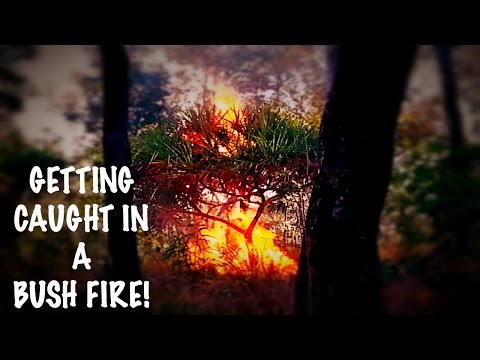 GETTING CAUGHT IN A BUSH FIRE! | ARNHEM LAND, AUSTRALIA