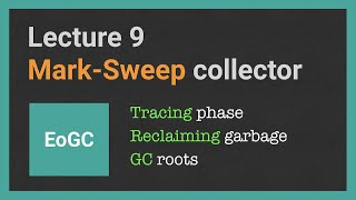 Essentials of Garbage Collectors. Lecture [9/17]: Mark-Sweep GC