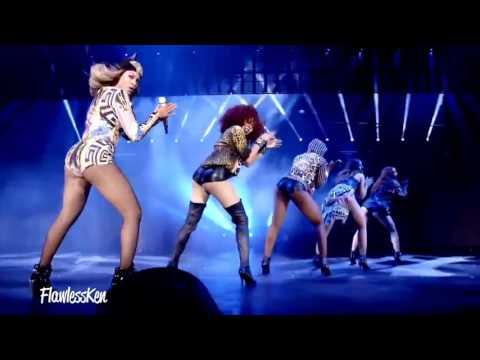 Beyoncé feat. Nicki Minaj & Rihanna - BBHMM (Music Video) [Holy Trinity]