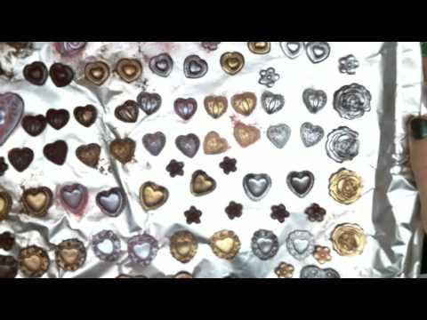 "DIY Embellishments Fimo ""Resin"" Hearts"