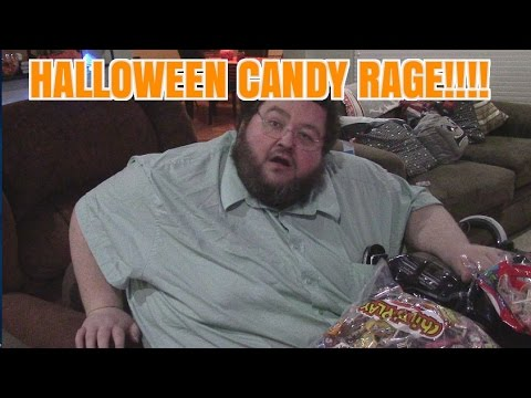 FRANCIS GETS HALLOWEEN CANDY!