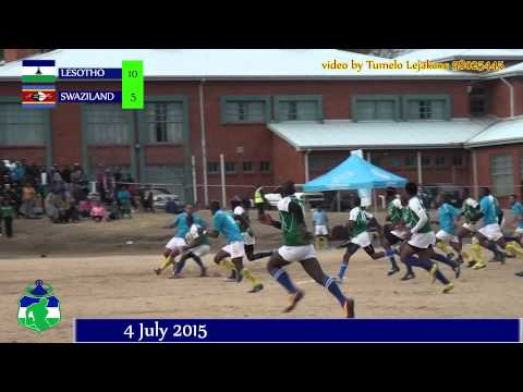 LESOTHO VS SWAZILAND RUGBY
