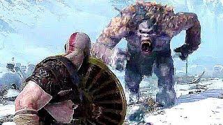 God of War 4 Gameplay Demo 4K (PS4 2018)