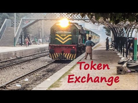 Token Exchange (Paper Line Clear) Signal System of Pakistan Railways