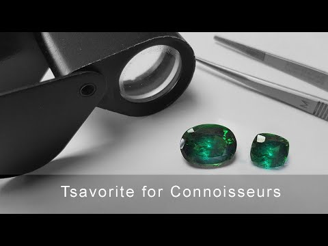 Tsavorite - What to look for in the Finest Grade of Tsavorite