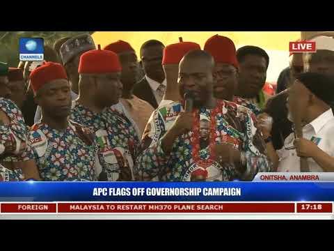 Anambra Election: Tony Nwoye Start Campaign With Promises