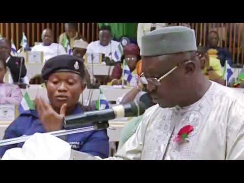 Sierra Leone Parliament Debates The 2019 Budget