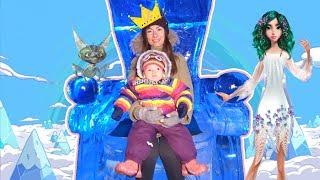 Арина в королевстве разноцветного льда