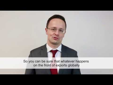 Hungary's Minister of Foreign Affairs & Trade invites you to WEDF 2017