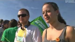 Zehntausende gegen Atomkraft - SPIEGEL TV