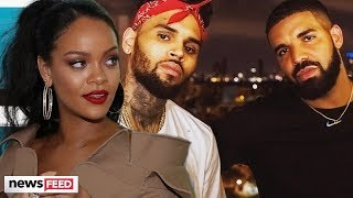 Rihanna's Exes, Drake & Chris Brown, Face-Off!