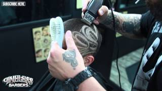 How To Do A Freestyle Design | Vick The Barber | HD | www.vickthebarber.com