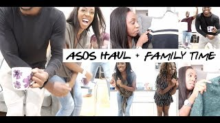 VLOG- HANGING OUT WITH MY SIBLINGS, ASOS AUTUMN HAUL & GETTING MY BROWS MICROBLADED