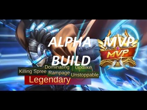 Mobile Legends Alpha MVP Build | Alpha Best Build?