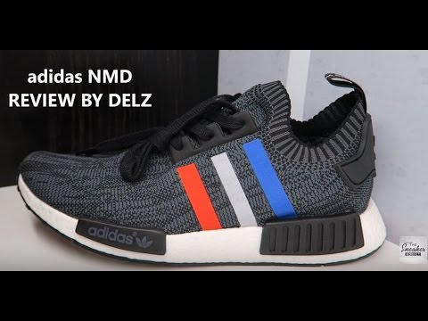 ADIDAS NMD TRI COLOR R1 PK BOOST SNEAKER REVIEW