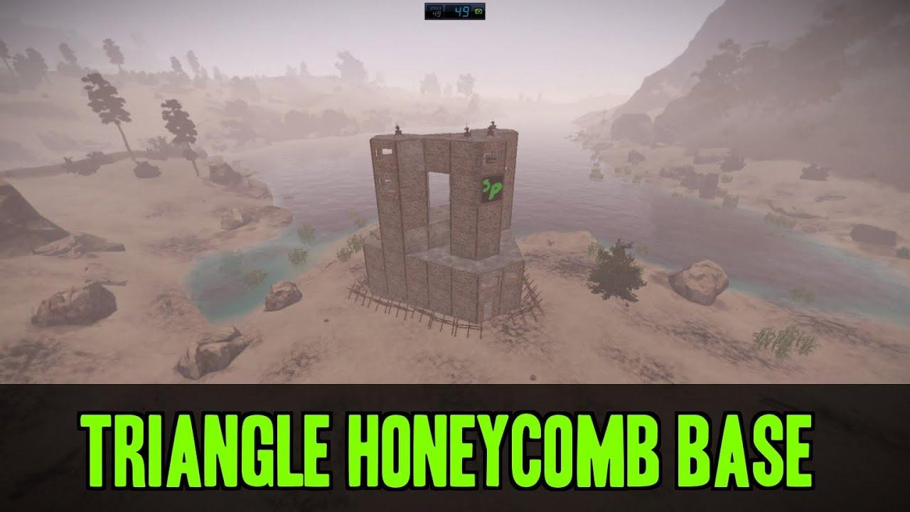 Triangle Honeycomb Base Time Lapse - (Rust) - YouTube