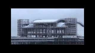 Weston Super Mare pier fire and rebuild