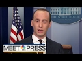 WH Adviser Stephen Miller: A Single Judge 'Cannot Make Immigration Law' | Meet The Press | NBC News