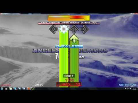 Stepmania 5 Angels and Demons - Temple of shadows (Hard)