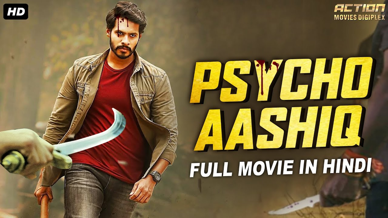 PSYCHO AASHIQ - Hindi Dubbed Full Action Romantic Movie | South Indian Movies Dubbed In Hindi