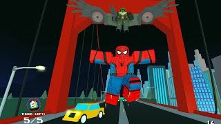 [EL] DIVENTO SPIDERMAN PER UN GIORNO! | Roblox ITA - Heroes of Robloxia